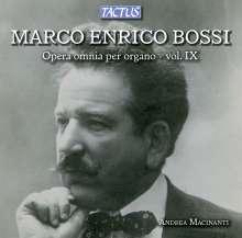 Marco Enrico Bossi (1861-1925): Orgelwerke Vol.9, CD