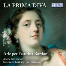 Agata Bienkowska - La Prima Diva (Arien für Faustina Bordoni), CD