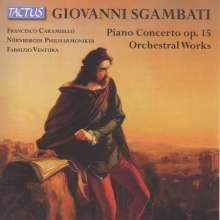 Giovanni Sgambati (1841-1914): Klavierkonzert op.15, CD