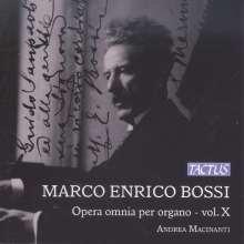 Marco Enrico Bossi (1861-1925): Orgelwerke Vol.10, CD