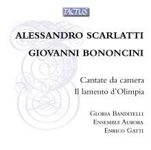 Giovanni Battista Bononcini (1670-1747): Kantaten, CD