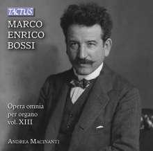 Marco Enrico Bossi (1861-1925): Orgelwerke Vol.13, CD
