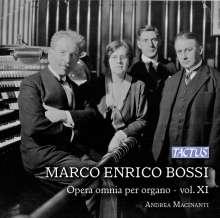 Marco Enrico Bossi (1861-1925): Orgelwerke Vol.11, CD