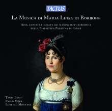 La Musica di Maria Luisa di Borbone, CD