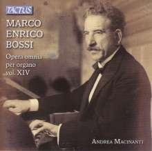 Marco Enrico Bossi (1861-1925): Orgelwerke Vol.14, CD