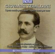 Giovanni Tebaldini (1864-1952): Orgelwerke, 2 CDs
