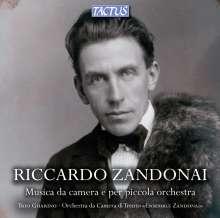 Riccardo Zandonai (1883-1944): Kammermusik & Werke für kleines Orchester, 3 CDs