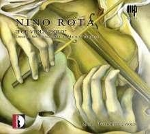 Nino Rota (1911-1979): Musik aus Filmen für Violine solo, CD
