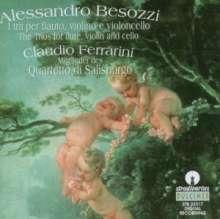 Alessandro Besozzi (1702-1793): Flötentrios Nr.1-6, CD
