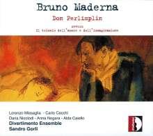 Bruno Maderna (1920-1973): Don Perlimplin (Ballata amorosa), CD