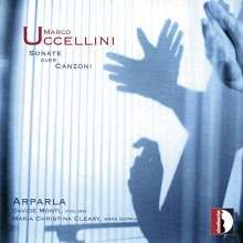 Marco Uccellini (1610-1680): Sonate over Canzoni op.5 für Violine & Harfe, CD