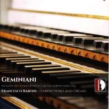 Francesco Geminiani (1687-1762): Pieces de Clavecin, 2 CDs