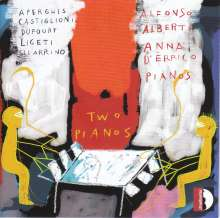 Alfonso Alberti & Anna d'Errico - Two Pianos, CD