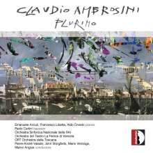 """Claudio Ambrosini (geb. 1948): Konzert für 2 Klaviere & Orchester """"Plurimo"""", CD"""
