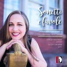Stacey Mastrian - Sonetti e Favole (Post-Puccini Part I), CD