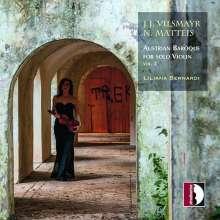 Austrian Baroque for Solo Violine Vol.2, CD