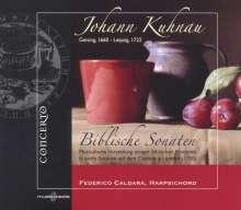 Johann Kuhnau (1660-1722): Die Biblischen Historien Nr.1-6, CD
