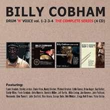 Billy Cobham (geb. 1944): Drum'n'Voice Vol.1 - 4: The Complete Series, 4 CDs