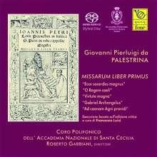 Giovanni Pierluigi da Palestrina (1525-1594): Missarum Liber primus (5 Messen), 3 Super Audio CDs