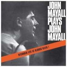 John Mayall: John Mayall Plays John Mayall - Live At Klooks Kleek (mono), LP
