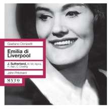 Gaetano Donizetti (1797-1848): Emilia di Liverpool (Ausz.), CD