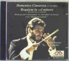 Domenico Cimarosa (1749-1801): Requiem, CD