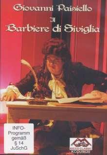 Giovanni Paisiello (1740-1816): Der Barbier von Sevilla, DVD