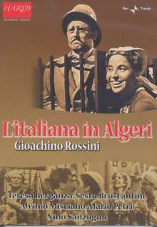 Gioacchino Rossini (1792-1868): L'Italiana in Algeri, DVD