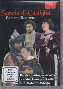 Gaetano Donizetti (1797-1848): Sancia di Castiglia, DVD