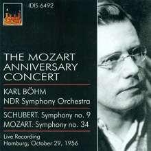 Karl Böhm  - The Mozart Anniversary Concert Hamburg 1956, CD