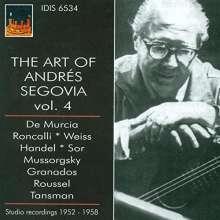 Andres Segovia - The Art of Vol.4, CD