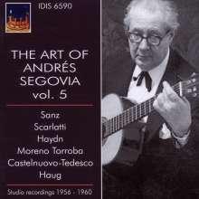 Andres Segovia - The Art of Vol.5, CD