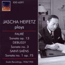 Jascha Heifetz plays French Music Vol.1, CD