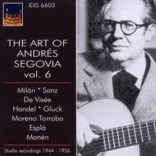 Andres Segovia - The Art of Vol.6, CD