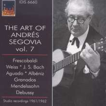 Andres Segovia - The Art of Vol.7, CD