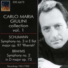 Carlo Maria Giulini Collection Vol.1, CD