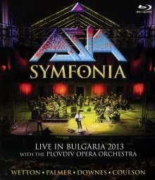 Asia: Symfonia: Live In Bulgaria 2013, Blu-ray Disc