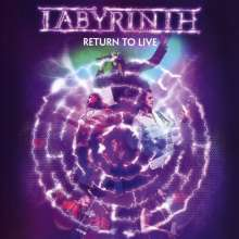 Labyrinth: Return To Live (Deluxe Edition), 1 CD und 1 DVD