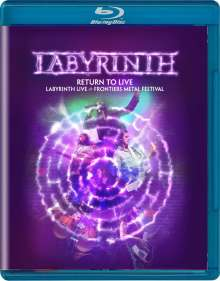 Labyrinth: Return To Live, Blu-ray Disc