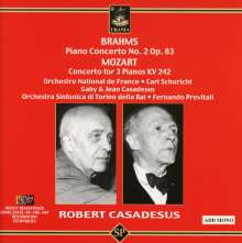 Robert Casadesus spielt Klavierkonzerte, CD