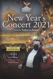 Neujahrskonzert 2021 (Teatro la Fenice) mit Daniel Harding, DVD