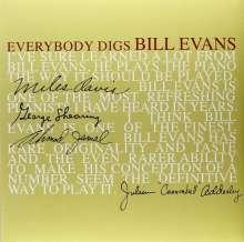 Bill Evans (Piano) (1929-1980): Everybody Digs Bill Evans (remastered) (180g), LP