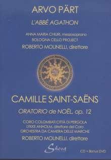 Arvo Pärt (geb. 1935): L'Abbe Agathon für Sopran & 8 Celli, 1 CD und 1 DVD