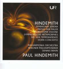 "Paul Hindemith (1895-1963): Symphonie ""Mathis der Maler"", 2 CDs"