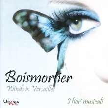 Joseph Bodin de Boismortier (1689-1755): Sonate für Flöte, Fagott & Bc op.37, CD