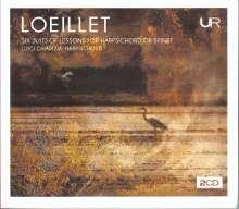 John Loeillet (1680-1730): Cembalosuiten Nr.1-6, 2 CDs