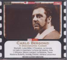 Carlo Bergonzi  - A Discographic Career, 3 CDs