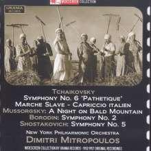 Dimitri Mitropoulos dirigiert, 2 CDs