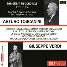Arturo Toscanini - The Great Recordings 1929-1954, 3 CDs