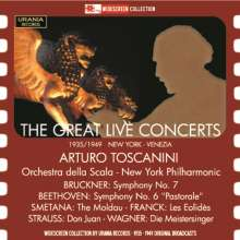 Arturo Toscanini - The Great Live Concerts, 2 CDs